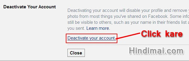 how to delete or deactive a outlook account
